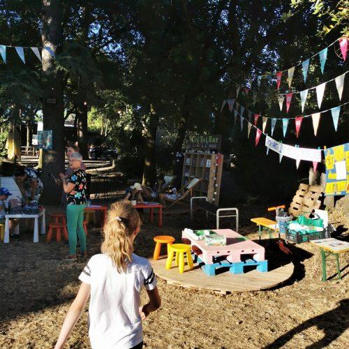 food truck festival kids corner